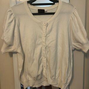(2) Torrid Short Sleeved Button Up Sweater